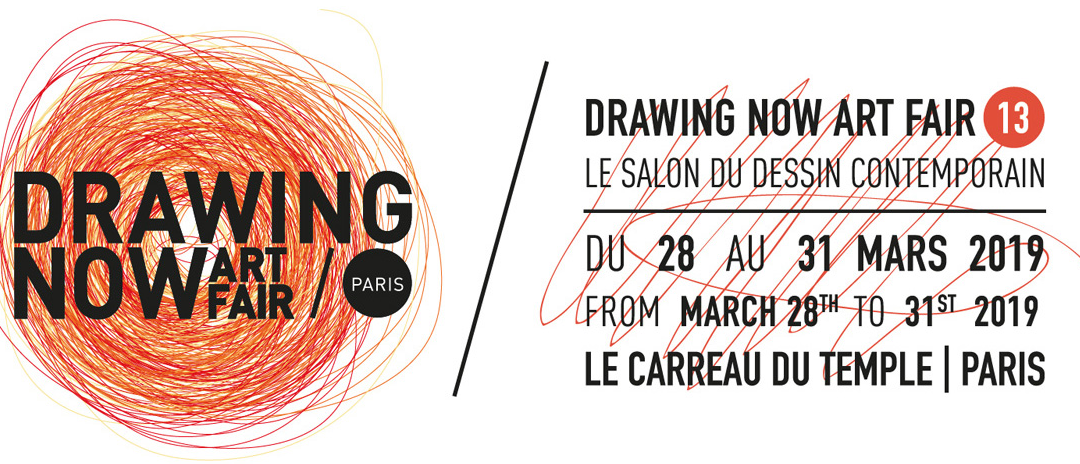 Salon « Drawing Now » du 28 au 31 mars 2019 à Paris